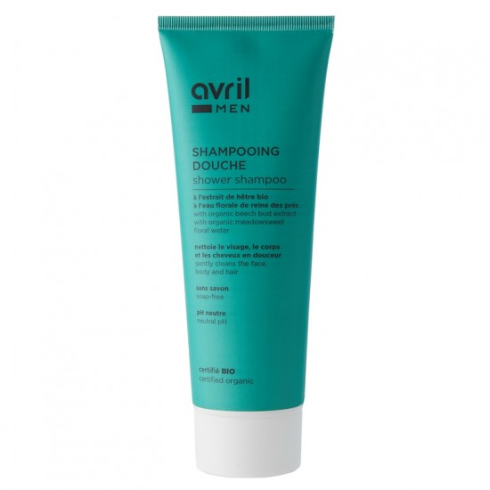 Shampooing Douche Homme Bio Avril - Made in France