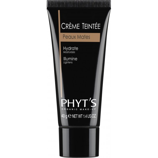 Crème Teintée Peaux Mates Phyt's - Made in France