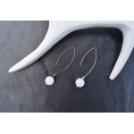 Boucles d'Oreilles fil Lesotho 2 - Made in France