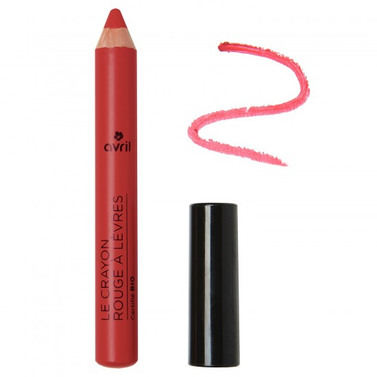 Crayon Rouge à Lèvres Griotte Bio Avril Beauté - Made in France
