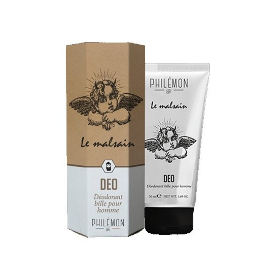 Packaging Déodorant Bille pour Homme - Le Malsain - Philemon - Made in France