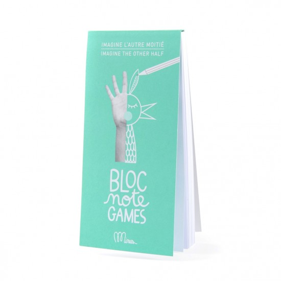 Bloc Note Games Imagine l'autre moitié - Made in France