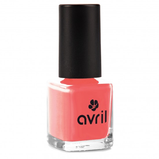 Vernis à Ongles Pamplemousse Rose n°569 Avril Beauté - Made in France